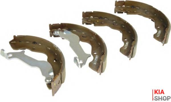 Колодки тормозные барабанная (58350-2KA00) Mobis