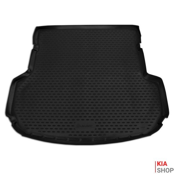 Коврик в багажник KIA Sorento, 2015->, внед., 5 мест, 1 шт. (полиуретан)
