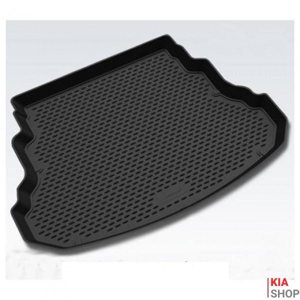 Коврик в багажник KIA Sportage NEW, 2010-> кросс. (полиуретан)