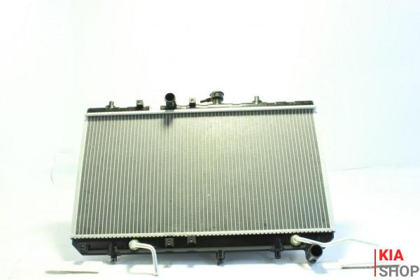 Радиатор охлаждения Rio 1.3/1.5 (00-) АКПП (алюм)  Luzar