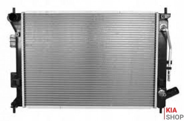 Радиатор системы охлаждения Nissens