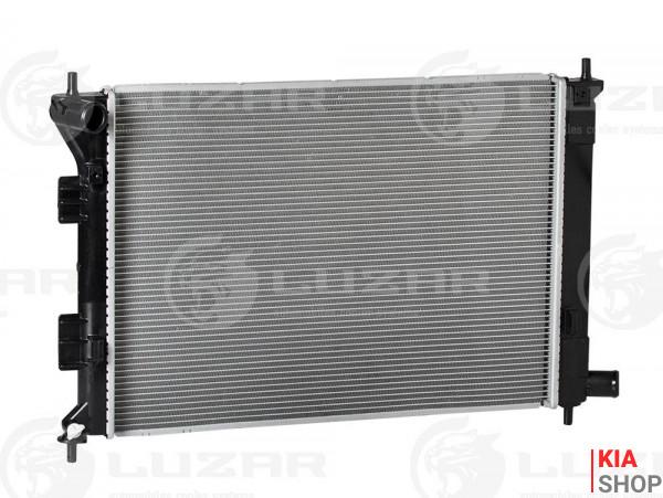 Радиатор охлаждения Ceed 1.4/1.6/2.0 (12-) / Elantra 1.6/1.8 (11-) МКПП  Luzar