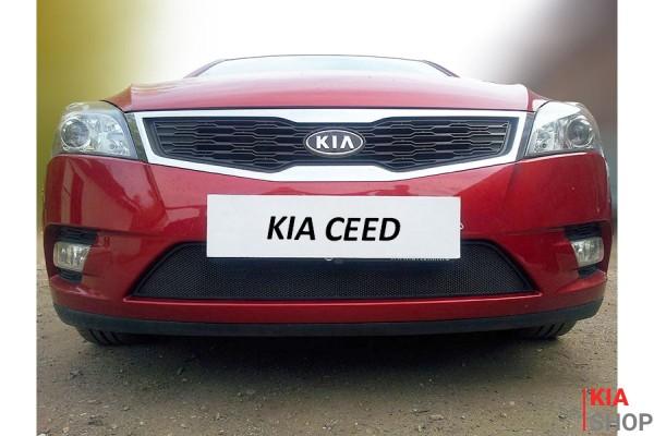 Защита Радиатора KIA CEED I Рестайлинг Black