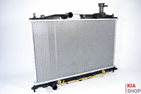 Радиатор охлаждения Accent 1.4/1.6 (06-) МКПП/АКПП (алюм)  Luzar