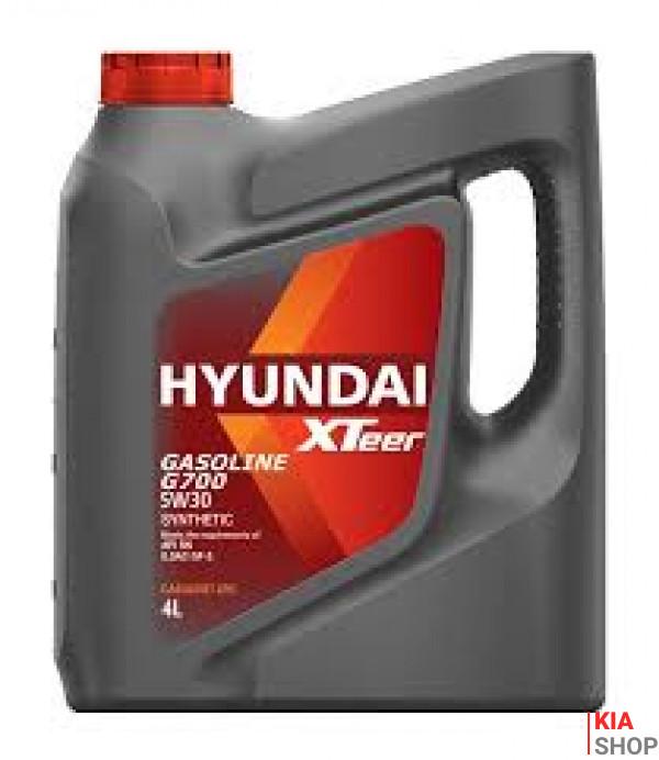 Масло ДВС 5W-30 Xteer HYUNDAI бенз, Gasoline G700 SN/GF-5,   4л, п/синт