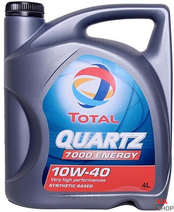 Моторное масло Total QUARTZ 7000 EGY 10W-40  4 л.
