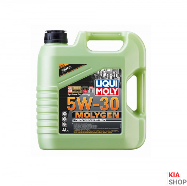 Моторное масло  Liqui moly Molygen New Generation 5W-30 синтетика  4 л.