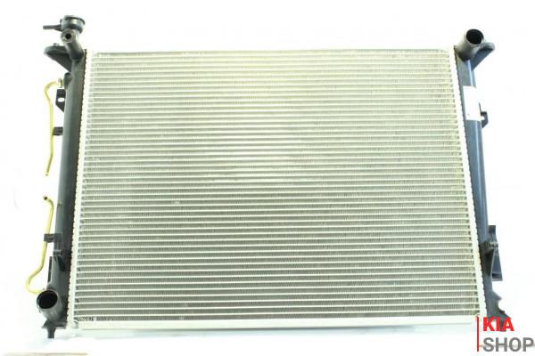 Радиатор охлаждения Optima 2.4 (05-) АКПП (алюм)  Luzar