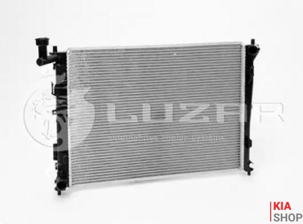 Радиатор охлаждения Ceed 1.4/1.6/2.0 (06-) МКПП (алюм) Luzar