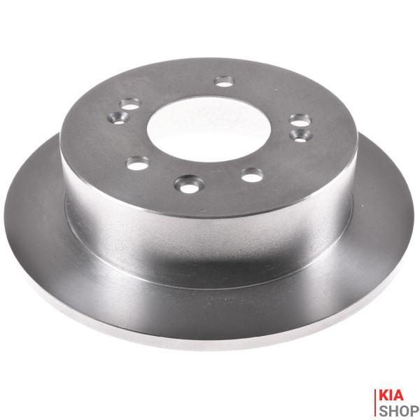 Диск тормозной задний 58411-3S000 Hyundai Sonata (10-), i45 (10-)/Kia Optima (10-) (KM0703554CHN) KAP