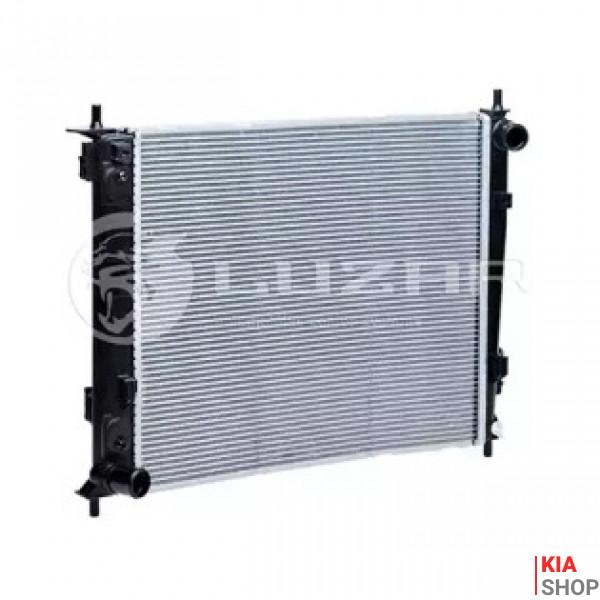 Радиатор охлаждения Soul 1.6/1.6CRDI (09-) МКПП  Luzar