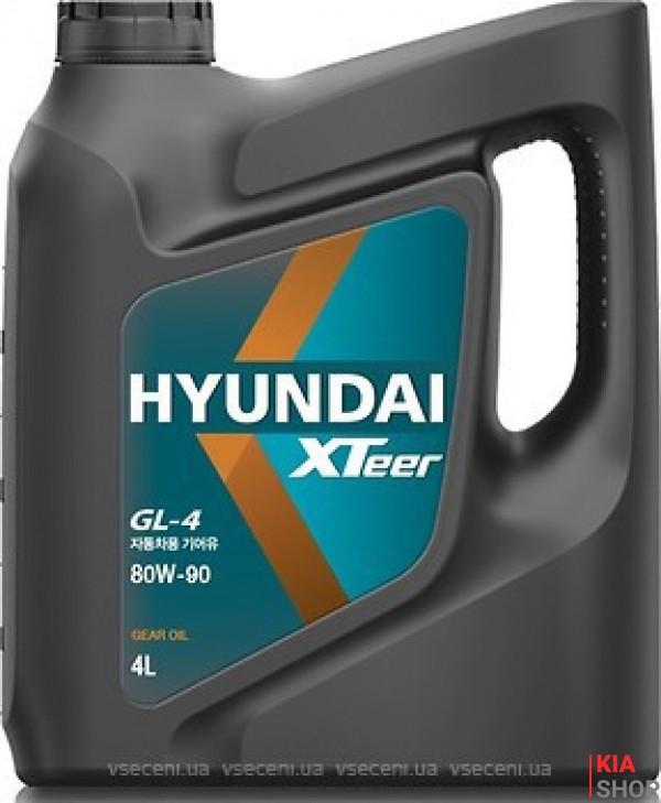 Масло трансмисс. 80W-90 Xteer HYUNDAI GL-4,   4л, п/синт