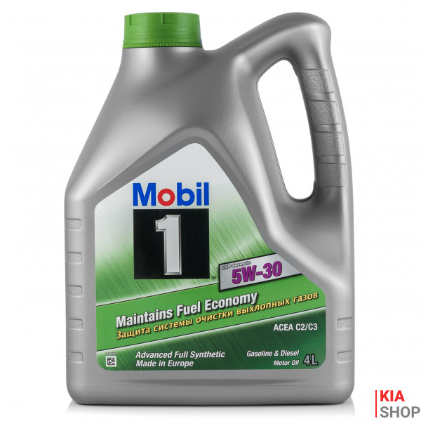 Моторное масло Mobil ESP Formula 5W-30 синтетика  4 л.
