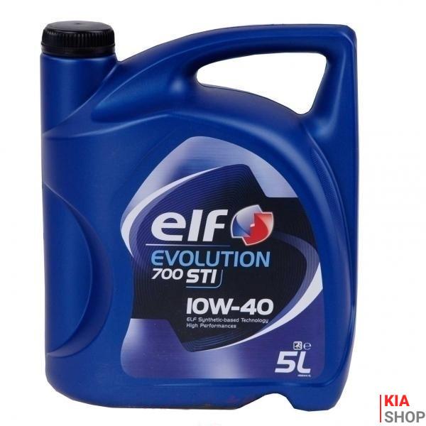 Моторное масло ELF Evolution 700 STI 10W-40 полусинтетика 5 л.