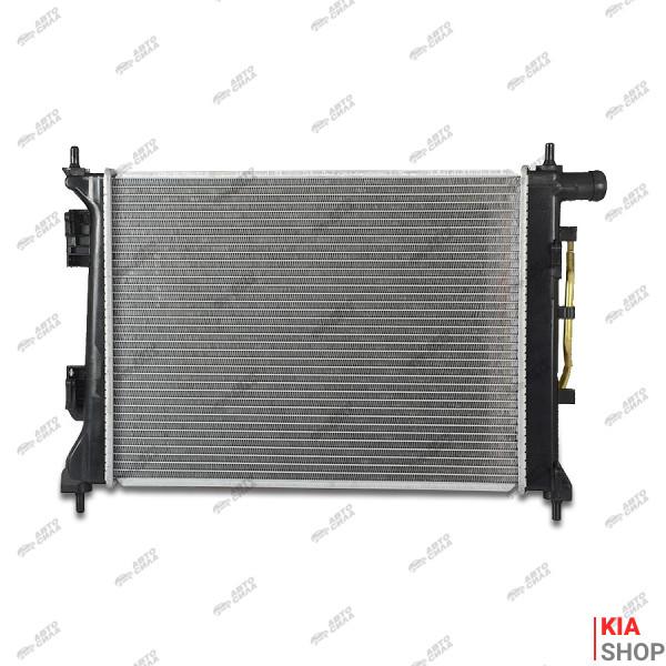 Радиатор охлаждения Solaris/Rio 1.4/1.6 (10-) АКПП (алюм) Luzar
