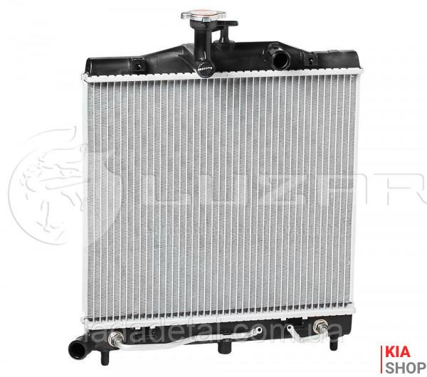 Радиатор охлаждения Picanto 1.0/1.1 (04-) АКПП  Luzar