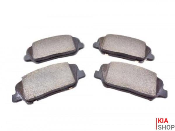 Колодки тормозные дисковые задние SORENTO 09-/SANTA FE 10-  TANGUN