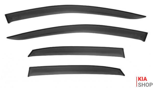 Дефлектор боковых окон к-кт (4 шт.) Ceed CD