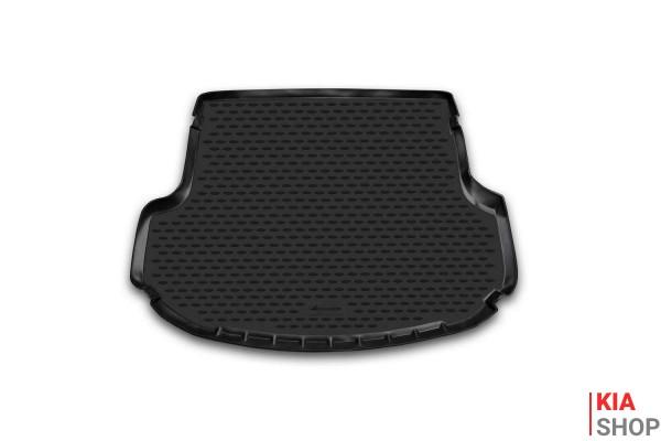 Коврик в багажник KIA Sorento, 2012-> кросс. (полиуретан)
