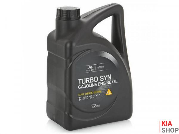 Масло моторное Hyundai-KIA Turbo SYN Gasoline 5W-30 синтетика 4 л.