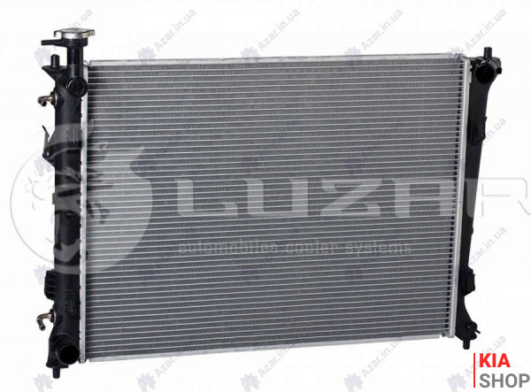 Радиатор охлаждения Cerato 1.6/2.0 (09-) АКПП  Luzar