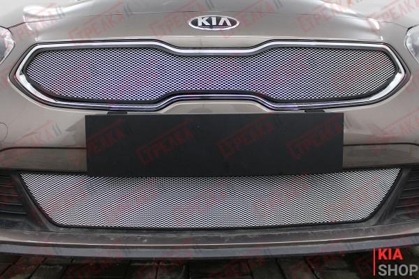 Защита Радиатора KIA CEED III Chrome Комплект