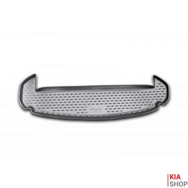 Коврик в багажник KIA Sorento, 2009-2012, кросс. 7 мест, кор. (полиуретан)