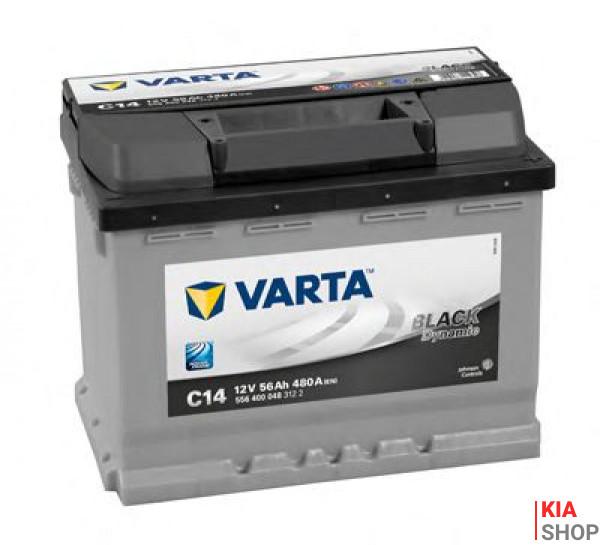 Аккумулятор Varta black dynamic 56 а*ч -/+ 480a