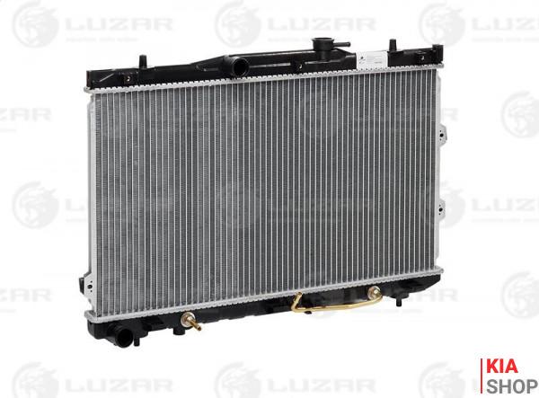 Радиатор охлаждения Cerato 1.6/2.0 (04-) АКПП (алюм)  Luzar