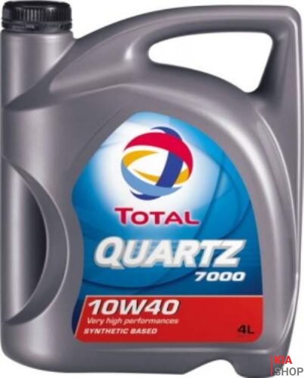 Моторное масло Total QUARTZ 7000 полусинтетика 10W-40 4 л.