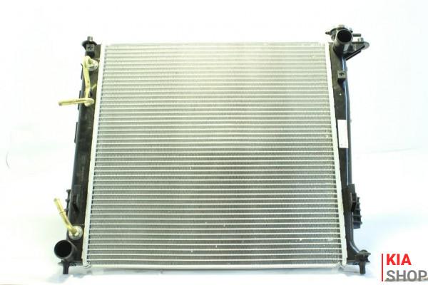 Радиатор охлаждения Sportage 1.7CRDI/2.0CRDI (10-) АКПП  Luzar