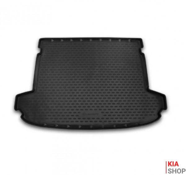 Коврик в багажник KIA Sportage, 2016->, кросс., 1 шт. (полиуретан)