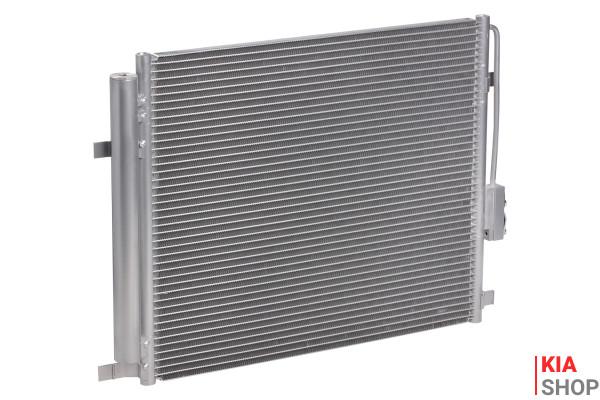 Радиатор кондиц. с ресивером для а/м Kia Sorento III (14-) 2.4i  LUZAR