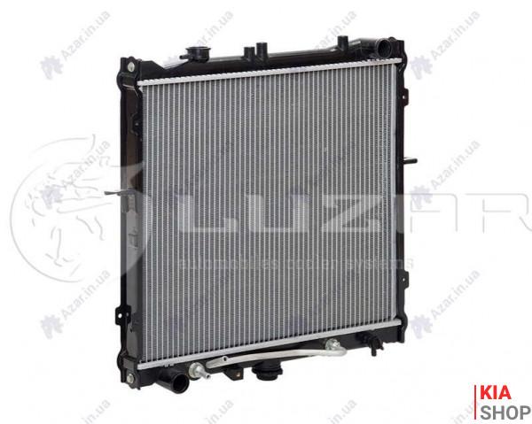 Радиатор охлаждения Sportage 2.0 (93-) МКПП (алюм) Luzar