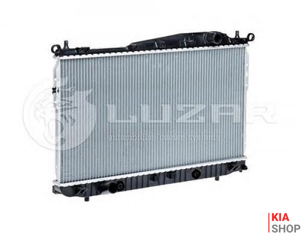 Радиатор охлаждения Sorento 2.5 (06-) МКПП  Luzar