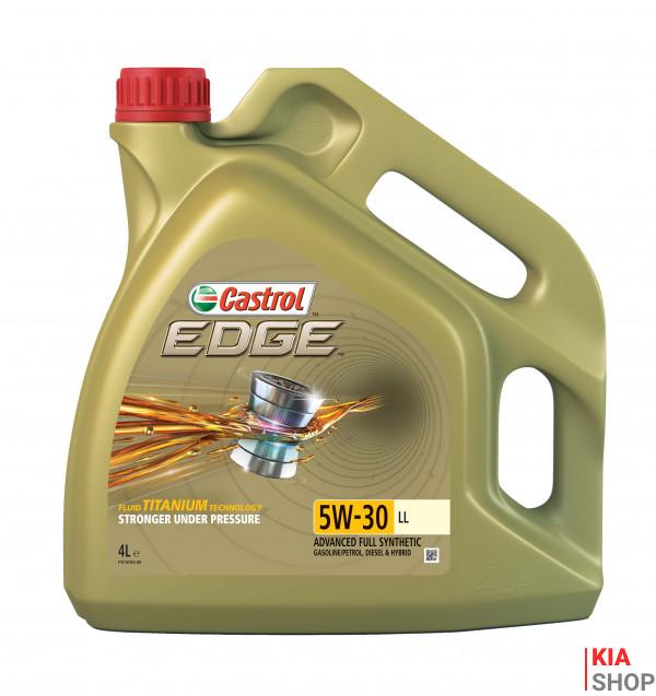 Моторное масло Castrol EDGE 5W-30 LL синтетика 4 л.