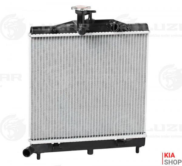 Радиатор охлаждения Picanto 1.0/1.1 (04-) МКПП  Luzar