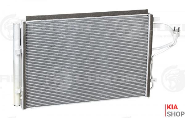 Радиатор кондиционера Ceed 1.4/1.6/2.0 (12-) МКПП Luzar