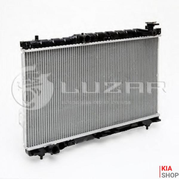 Радиатор охлаждения Sonata/Magentis 2.0/2.4/2.5/2.7 (98-) МКПП (алюм)  Luzar