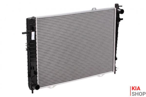 Радиатор охлаждения Sportage 1.7 CRDI/2.0 CRDI (10-) / IX35 2.0 CRDI (10-) МКПП  Luzar