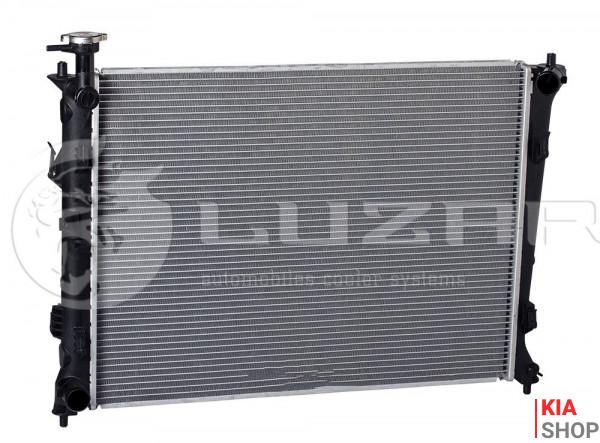 Радиатор охлаждения Sportage 2.0/2.7 (04-) АКПП Luzar