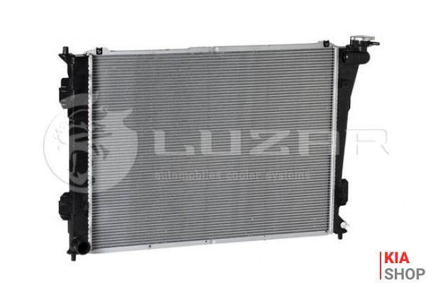 Радиатор охлаждения Sonata/Optima 2.0/2.4 (10-) МКПП  Luzar