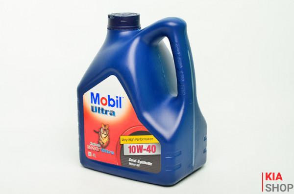 Моторное масло Mobil Ultra 10W-40 полусинтетика 4 л.