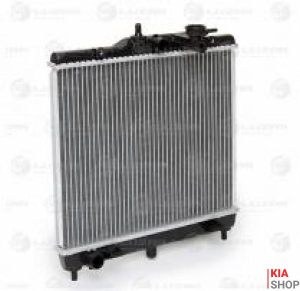 Радиатор охлаждения Picanto 1.0/1.1 (04-) МКПП (алюм) Luzar