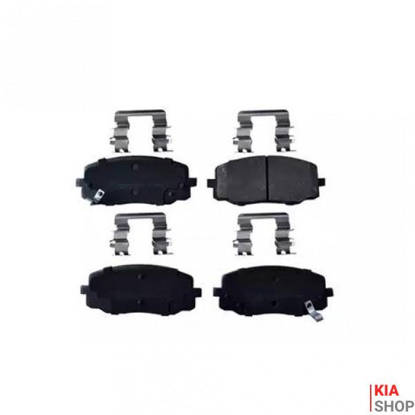 Тормозные колодки передн. i10, KIA Picanto DELPHI