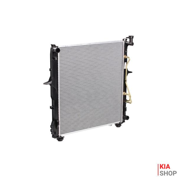 Радиатор охлаждения Kia Sorento (06-) 3.3i АКПП  LUZAR