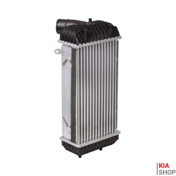 Радиатор интеркулера Kia Sorento (14-)/Hyundai Santa Fe (12-) 2.0D/2.2D  Luzar