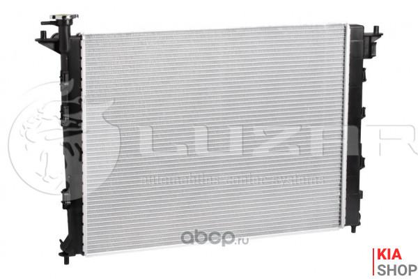Радиатор охлаждения Rio 1.3/1.5 (00-) МКПП (алюм)  Luzar