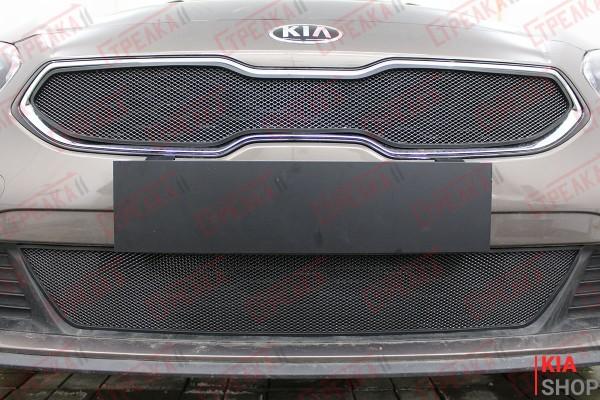 Защита Радиатора KIA CEED III Black Комплект