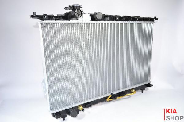 Радиатор охлаждения Sonata/Magentis 2.0/2.4/2.5/2.7 (98-) АКПП (алюм) Luzar